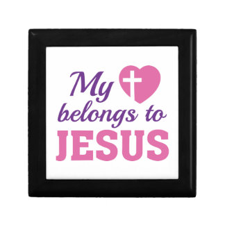 My Heart Belongs To Jesus Gift Box
