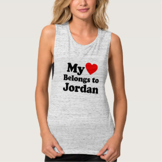 My Heart Belongs to Jordan Tank Top