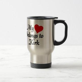 My heart belongs to Kirk Travel Mug