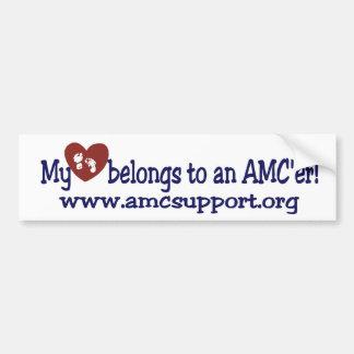 My Heart Belongs To My AMC'er Bumper Sticker