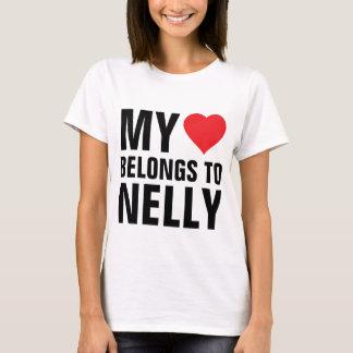 My heart belongs to Nelly T-Shirt