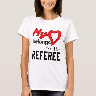 My heart belongs to the Referee. T-Shirt