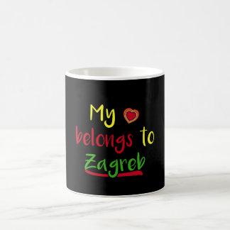 My heart belongs to Zagreb Croatian Mug