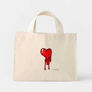 My Heart Bleeds for You Mini Tote Bag