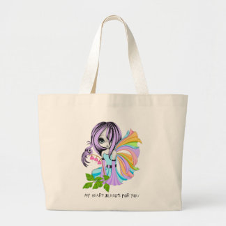 My Heart Bleeds For You Multi Large Tote Bag