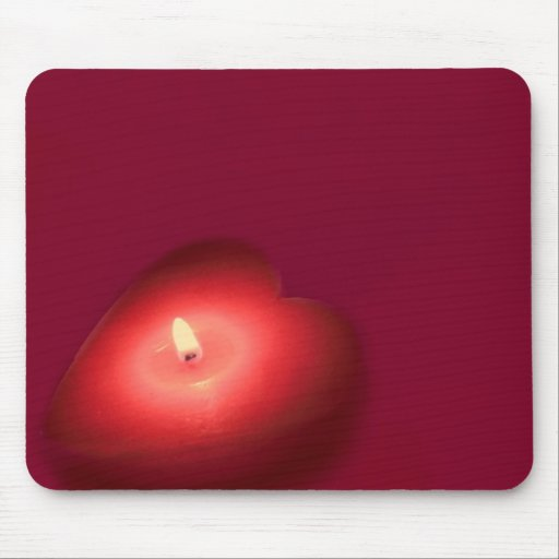 My heart burns for you mouse pads