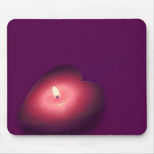 My heart burns for you mouse pad