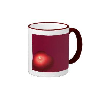 My heart burns for you coffee mug