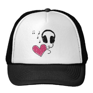 My Heart Goes to Music Hat