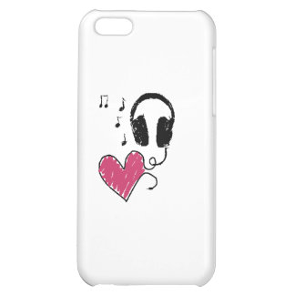 My Heart Goes to Music iPhone 5C Covers