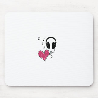 My Heart Goes to Music Mouse Pad