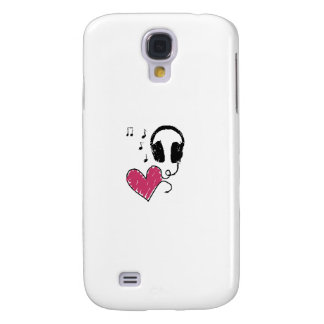 My Heart Goes to Music Samsung Galaxy S4 Cases