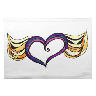 My Heart Has Wings Placemats