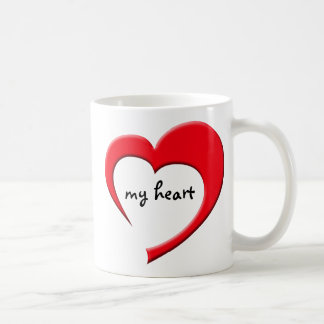 My Heart II mug (red)