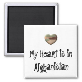 My Heart is in Afghanistan magnet