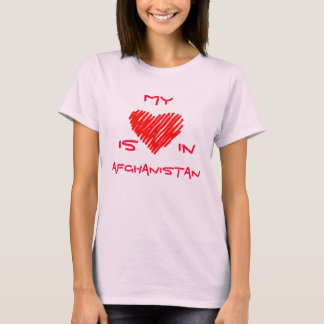 My (heart) is in Afghanistan T-Shirt