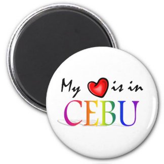 My Heart is in CEBU Refrigerator Magnet