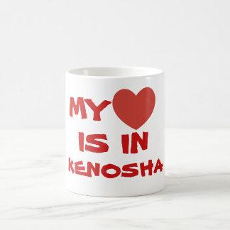 MY HEART IS IN KENOSHA COFFEE MUG
