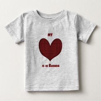 My Heart is in Rwanda Baby T-Shirt