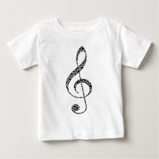 My Heart is in the Music (black design) Baby T-Shirt