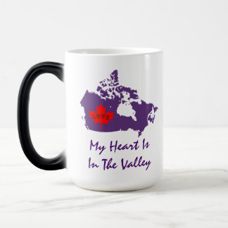 My heart is in the valley Bridgetown Nova Scotia Magic Mug