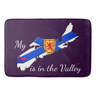 My Heart is in the valley Nova Scotia Bathroom mat