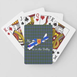 My Heart is in the valley Nova Scotia playing card