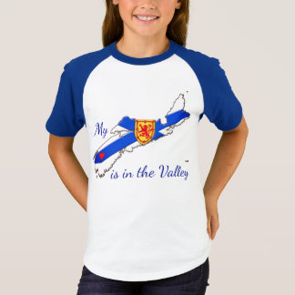 My Heart is in the valley Nova Scotia  Shirt
