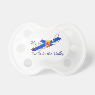 My Heart is in the valley  Nova  Scotia soother Pacifier