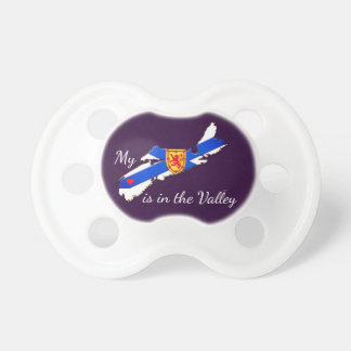 My Heart is in the valley  Nova  Scotia soother Pacifiers