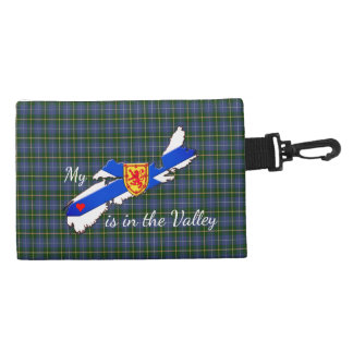 My Heart is the valley Nova Scotia clip purse Accessory Bag