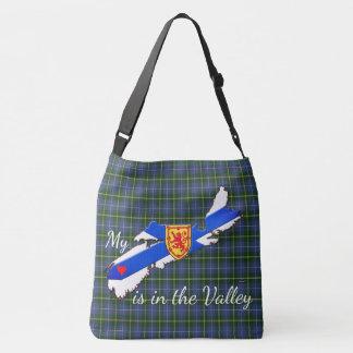 My Heart is the valley Nova Scotia Cross Bag