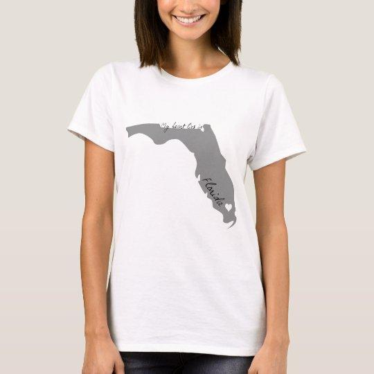 My Heart Lies in Florida T-Shirt