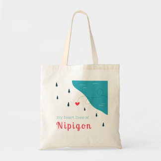 My Heart Lives at Nipigon Easy Tote