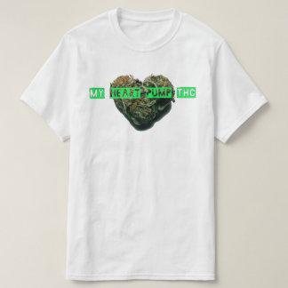 My Heart Pump THC White T Shirt