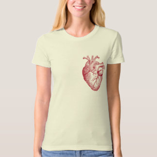 My Heart (red outline) T Shirts
