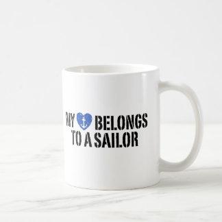 My Heart Sailor Mugs