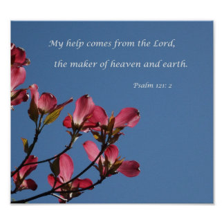 My help comes from the Lord Poster