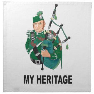 my Heritage Napkin