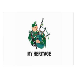 my Heritage Postcard