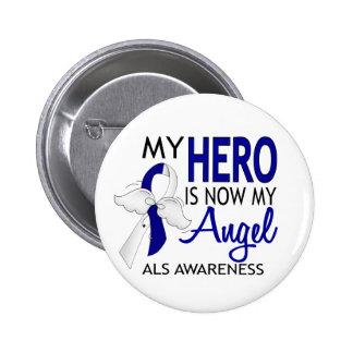 My Hero Is My Angel ALS Pin