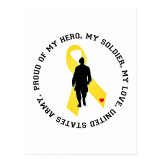My Hero, My Soldier, My Love Postcard
