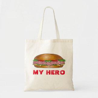 My Hero Submarine Sandwich Grinder Hoagie Sub Tote