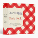 My Home Cook Book 3 Ring Binder