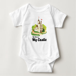 my home my castle baby bodysuit
