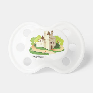 my home my castle pacifier