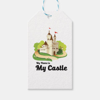 my home my castle pack of gift tags