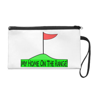 My Home On The Range Golf Wristlet Purses