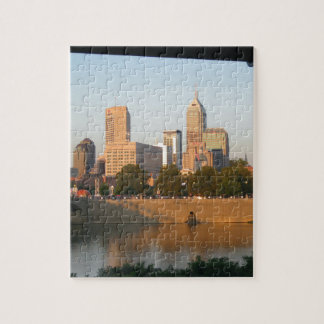 My Hometown  Indy Photoshoot by Dale Wilhelm Jigsaw Puzzle