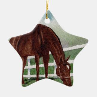 My Horse Ceramic Ornament